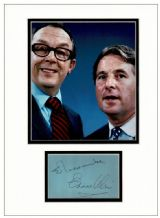 Eric Morecambe and Ernie Wise Autograph Signed